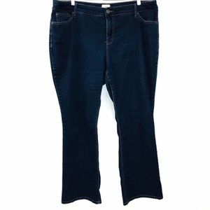 St. John's Bay Boot Cut Jeans size 20